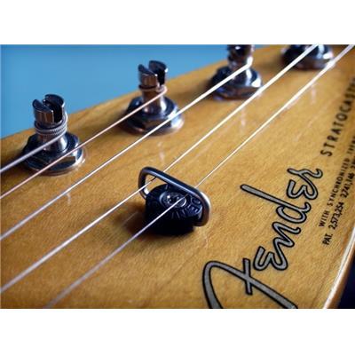 arr/êt pi/èces de rechange pour d/ébutants ZSooner Guides pour cordes de guitare /électrique en m/étal ton vintage mini boucle boule portable outils de musique professionnelle argent