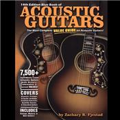 BLUE BOOK OF ACOUSTIC GUITARS 14TH EDITION