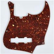 PICKGUARD FENDER JAZZ BASS TORTOISE 3 PLIS