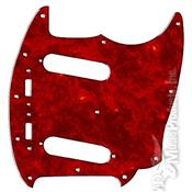 PICKGUARD US MUSTANG 1964-82 RED TORTOISE
