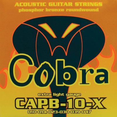 CORDES ACOUSTIQUE COBRA PHOSPHOR BRONZE 10-47