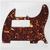 PICKGUARD TELE P90 BROWN TORTOISE 8 TROUS 4 PLIS