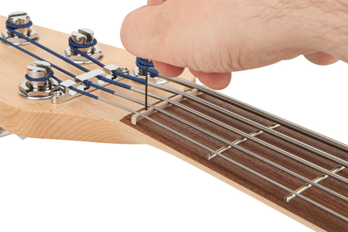 """5-String 1.75/"""" White Tedur Right-Hand SADOWSKY Just-A-Nut III"""