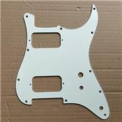 PICKGUARD STRAT HH TOGGLE SWITCH VINTAGE WHITE