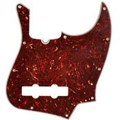PICKGUARD FENDER JAZZ BASS TORTOISE 4 PLIS