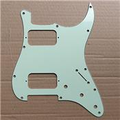 PICKGUARD STRATOCASTER HH MINT GREEN