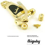 BIGSBY B3 DORE GUITARES DEMI-CAISSE (Hollow body)
