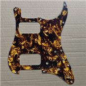 PICKGUARD STRATOCASTER HH MARBLE YELLOW