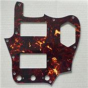 PICKGUARD JAGUAR HH '62 US BROWN TORTOISE 4 PLIS